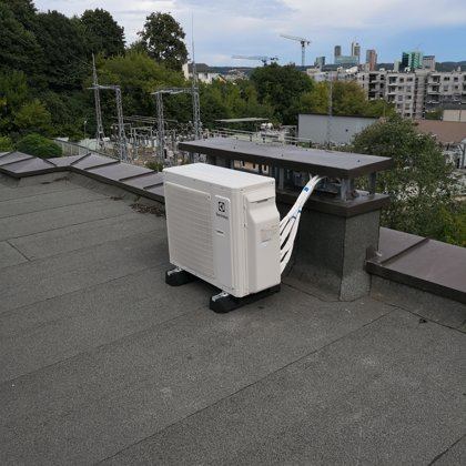 Sumontuota kondicionavimo sistema Electrolux multi split 4x1. Vilnius