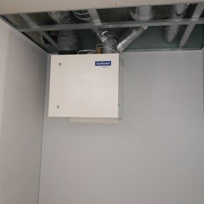 Įrengta rekuperacinė sistema kotedže 130 m2. Vilnius